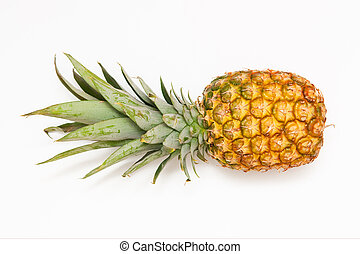 Pineapple - A pineapple on the white background