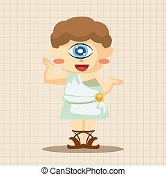 Greek deity theme elements
