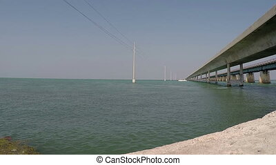 Old and New Seven Mile bridge - Florida Keys old and New...
