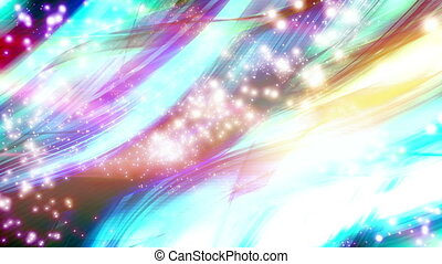 VJ Cosmic Chaos Looping Abstract - Animated Background VJ...
