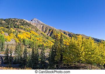 Colorado Mountains in Fall