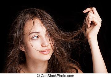 Hair health.
