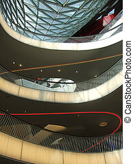 architecture of the store Zeil in Frankfurt on the Main in...