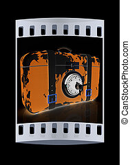 suitcase-safe for travel The film strip