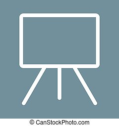 Canvass I - Canvas, texture, background icon vector...