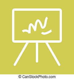 Canvass II - Canvas, texture, background icon vector...