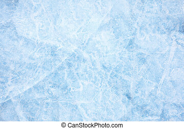 Baikal ice texture - Texture of ice of Baikal lake in...
