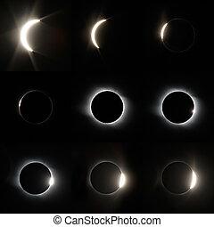 Full Solar Eclipse - The total Solar Eclipse in Altai region...