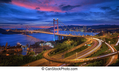 Tsing-Ma Bridge - Hong Kong