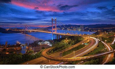 Tsing-Ma Bridge - Hong Kong