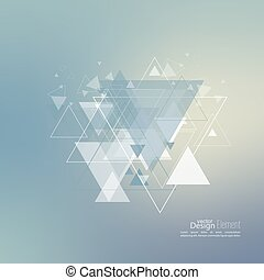 Abstract blurred background with hipster stream flying...