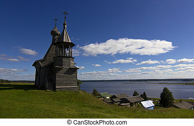 Kenozero national Park, Arkhangelsk - chapel in the...