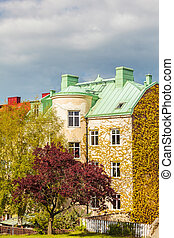 Apartment buildings in Karlskrona, Sweden - Ancient...