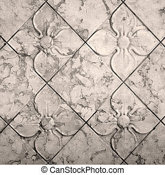 antique floral  seamless pattern