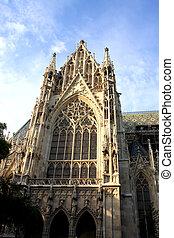 The Votive Church (Votivkirche) is a neo-Gothic church...