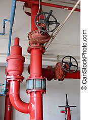 Water pipe system - Water pipe system in the factory...