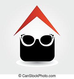 Logo for eyewear shop