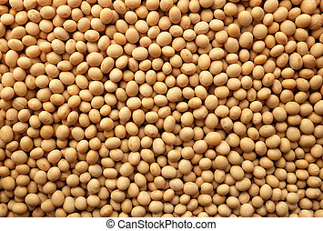 Soya beans, or soybeans background - Soya beans, or soybeans...