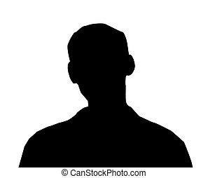 Male Person Illustration - Unknown male person illustration...