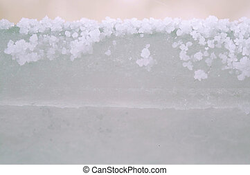 salt frozen crystallization