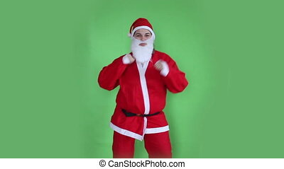 Santa Claus green screen