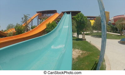open air aquapark in egypt HD