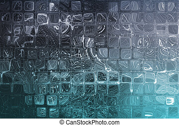 Blue Abstract Corporate Data Internet Grid