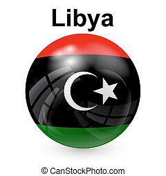 Libya flag - State flag of Libya