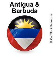 antigua and barbuda state flag - antigua and barbuda...