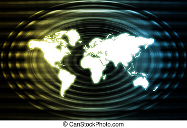 Global World Business Abstract
