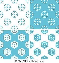 Target patterns set