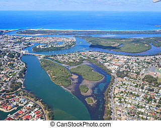 Aerial View of Queensland Australia