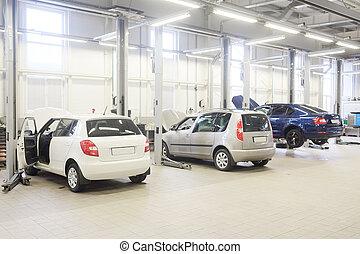 car repair shop