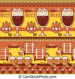 beer striped background