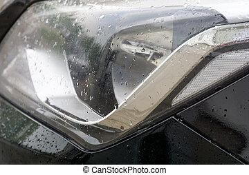 自動車, 雨, マクロ