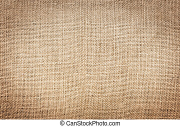 Burlap - Rough burlap texture background