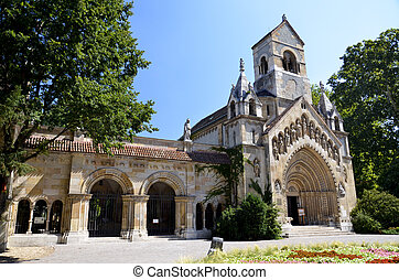 Vajdahunyad Castle, Church of Jak, Budapest - View the...