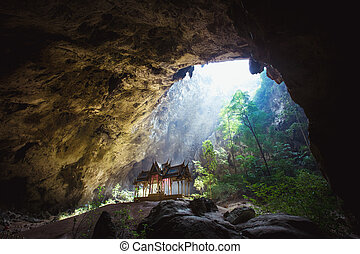 Phraya Nakhon Cave is the most popular pavilion at Prachuap,...