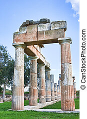 Sanctuary of Artemis - Remains of the Sanctuary of Artemis...