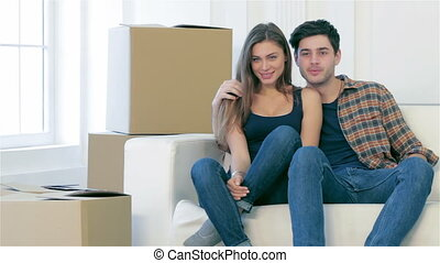 Relocation - New repair and relocation Loving couple enjoys...