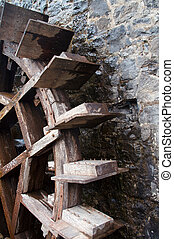 Waterwheel - Old water wheel at mill