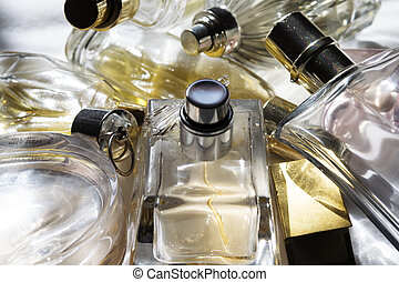 charm fragrances and sensuality - concept of charm...