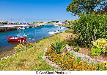 Hayle Harbour Cornwall - The historic harbour at Hayle on...