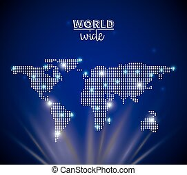 world wide design, vector illustration eps10 graphic