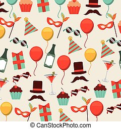 retro party design, vector illustration eps10 graphic