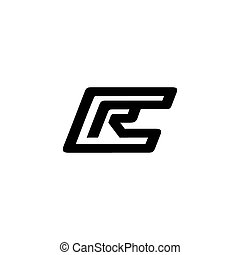Sign of the letter C and R - Branding Identity Corporate...