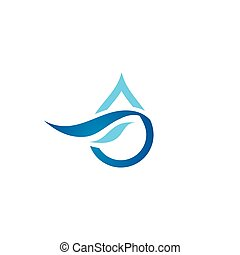 Premium Pure water abstract sign - Branding Identity...