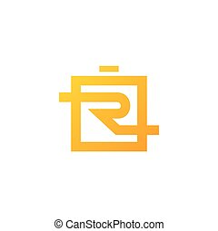 Sign of the letter R - Branding Identity Corporate logo...