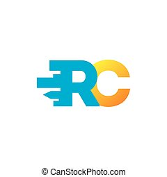 Sign of the letter R and C - Branding Identity Corporate...