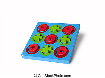 Tic Tac Toe game  - Wooden Tic Tac Toe game